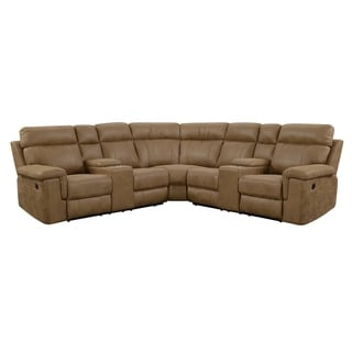Emerald Home Braydon Casual 3PC Modular Power Reclining Sectional