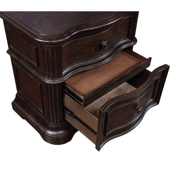 Key City Nightstand Traditional Style