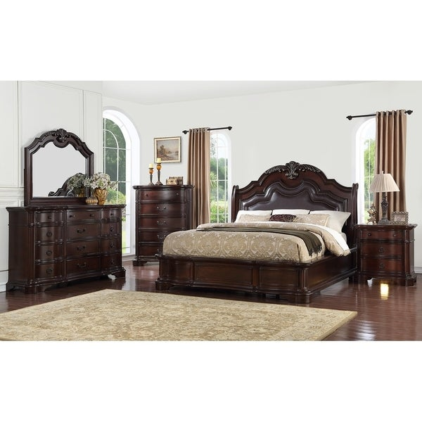 Miraculous St Louis Mahogany Finish Wood Dresser Home Interior And Landscaping Ferensignezvosmurscom