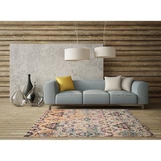 LR Home Gypsy Albedo Crem/ Grey Polypropylene Rug