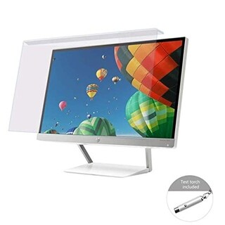 Urbo Anti-Blue Light Screen Filter to Relieve Eye Strain and Fatigue for 15.6 Inch (39.6 cm) Monitors in Office and Home
