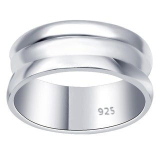 Essence Jewelry Sterling Silver Scroll Design Stackable Ring Set