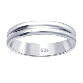 Essence Jewelry Solid Sterling Silver Unique Wedding Bands