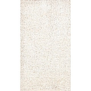 "Porch & Den Beckman Hand-knotted Shaggy Contemporary Oriental Area Rug - 4'9"" x 2'6"""