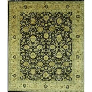 "Tabriz Oriental Handmade Oriental Wool Area Rug - 9'11"" x 8'3"""