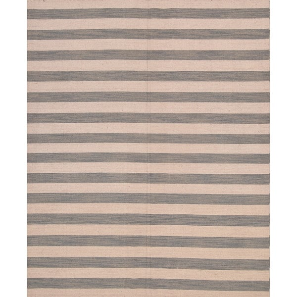 """Gabbeh Indian Hand Knotted Oriental Modern Area Rug - 10'0"""" x 8'0"""""""
