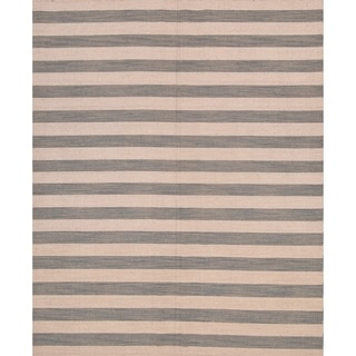 "Gabbeh Indian Hand Knotted Oriental Modern Area Rug - 10'0"" x 8'0"""