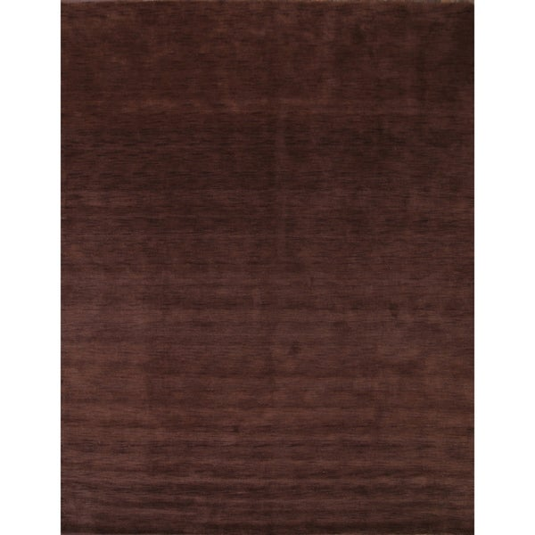 "Traditional Hand Knotted Wool Gabbeh Oriental Area Rug - 12'10"" x 10'2"""