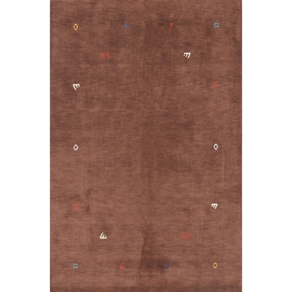 """The Curated Nomad Quinn Hand-knotted Wool Oriental Area Rug - 9'10"""" x 6'6"""""""