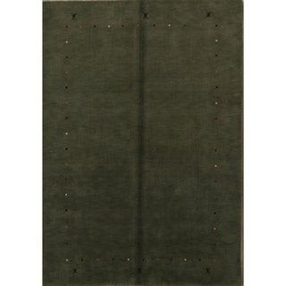 "The Curated Nomad Parocela Hand-knotted Wool Area Rug - 9'6"" x 6'9"""