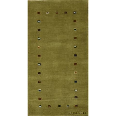 "Porch & Den Benburb Hand-knotted Woo Oriental Area Rug - 4'5"" x 2'4"""