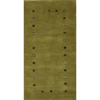 "Porch & Den Benburb Hand-knotted Woo Oriental Area Rug - 4'5"" x 2'4"""