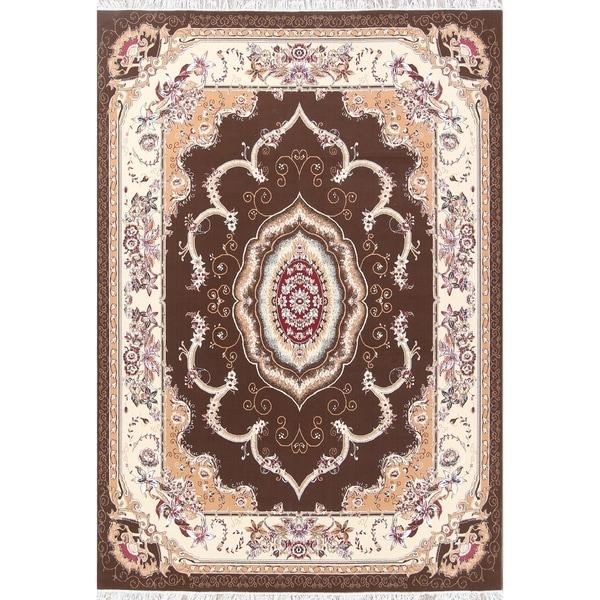 """Gracewood Hollow Zirimu Floral Persian Area Rug - 11'8"""" x 8'1"""""""