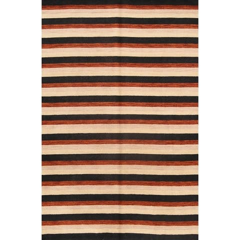 "Carson Carrington Abacka Oriental Stripe Area Rug - 9'9"" x 6'5"""
