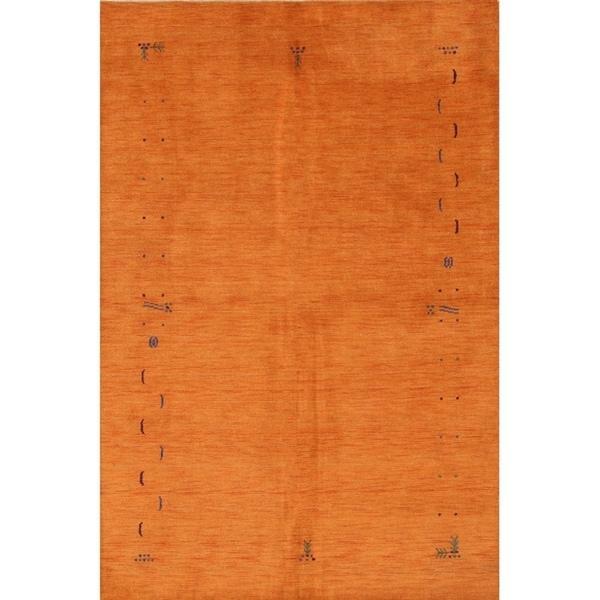 "The Curated Nomad Cruz Handmade Wool Area Rug - 9'9"" x 6'6"""