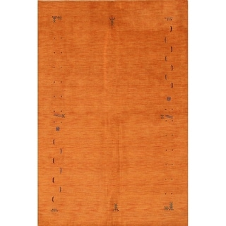 "The Curated Nomad Cruz Handmade Wool Area Rug - 9'9"" x 6'6"""