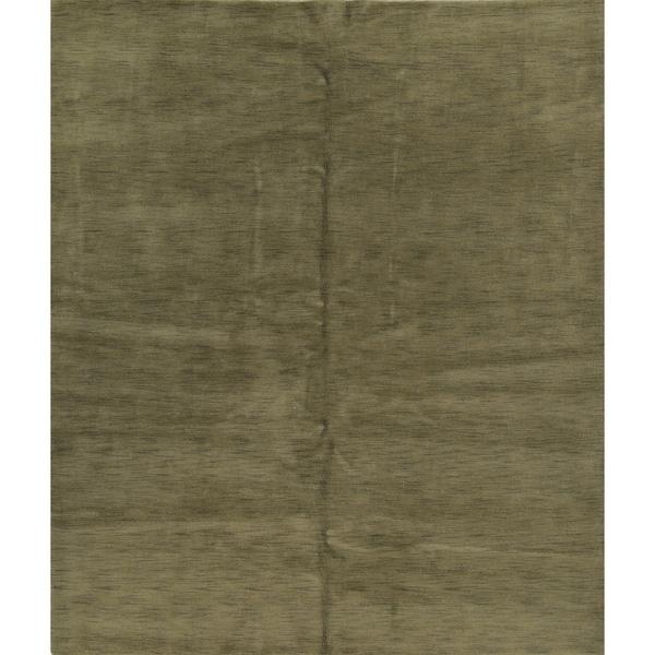 "Porch & Den Brandyshire Green Hand-made Oriental Area Rug - 9'9"" x 8'3"""