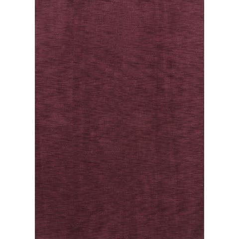 """Porch & Den Brandyshire Purple Hand-knotted Wool Oriental Area Rug Tribal - 7'11"""" x 5'8"""""""