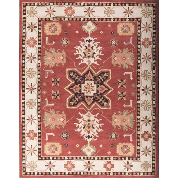 "Gracewood Hollow Abulhawa Made Blend Oushak Traditional Traditional Rug - 11'5"" x 8'2"""