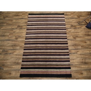 "Carson Carrington Apalle Oriental Stripe Area Rug - 9'10"" x 6'5"""