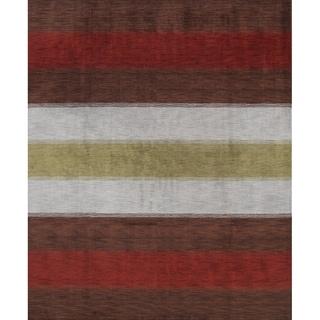 """Carson Carrington Apelas Handmade Wool Tribal Area Rug - 9'11"""" x 8'0"""""""