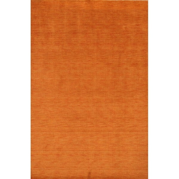 """Strick & Bolton Francesco Hand-knotted Wool Area Rug - 9'9"""" x 6'8"""""""