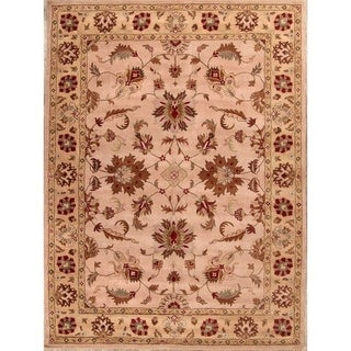 """Copper Grove Perachorio Classical Oushak Agra Traditional Oriental Area Rug Hand Tufted Pink - 13'0"""" x 10'0"""""""