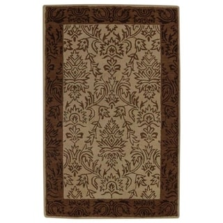 """Gracewood Hollow Karapents Knotted Blend Oushak Traditional Rug - 8'1"""" x 5'3"""""""