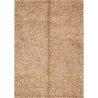 "Porch & Den Beckman Brown Hand-knotted Shaggy Classic Area Rug - 7'7"" x 5'2"""