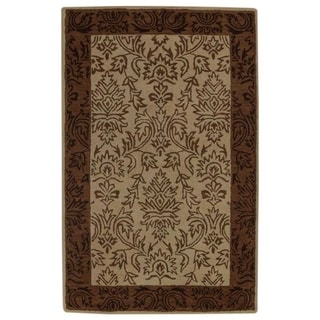 "Copper Grove Aulum Beige Hand-tufted Oushak Oriental Area Rug - 8'1"" x 5'4"""