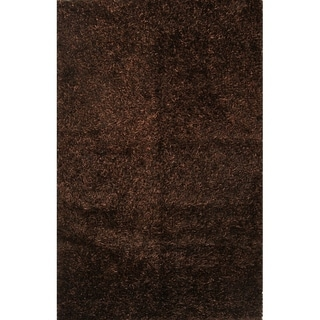 "Porch & Den Beckman Hand-knotted Shaggy Wool Oriental Area Rug - 5'8"" x 3'10"""