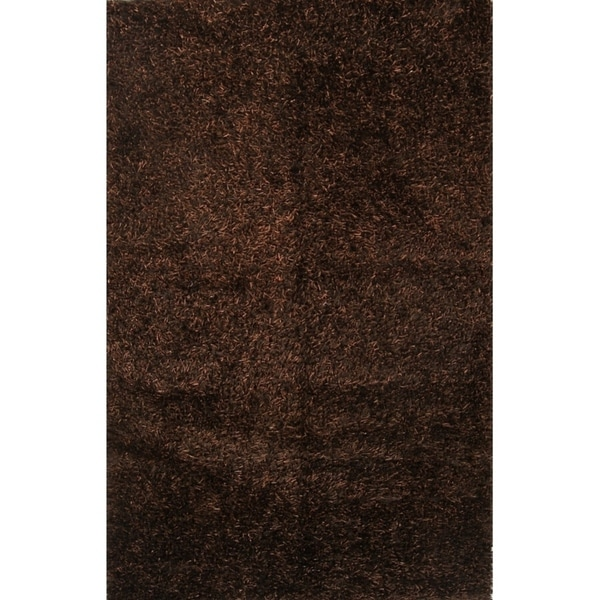 "Porch & Den Beckman Hand-knotted Shaggy Wool Oriental Area Rug - 5'8"" x 3'10"""