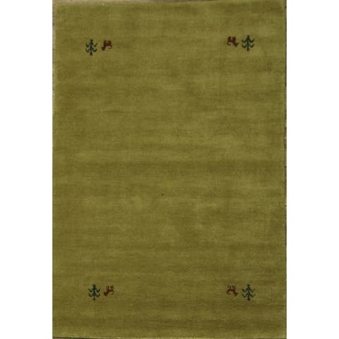 "Carson Carrington Abraur Oriental Hand-knotted Wool Area Rug - 5'9"" x 4'0"""