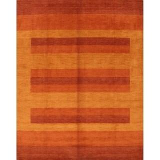 """Carson Carrington Kulfors Handmade Stripe Area Rug - 9'11"""" x 8'0"""""""