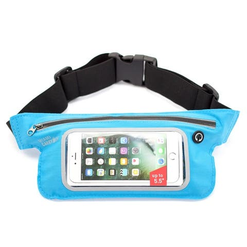 Miami CarryOn Running Workout Belt / Sweat-Proof for Smartphones.