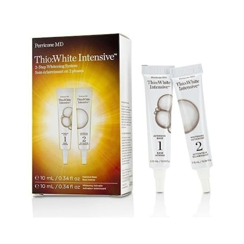 Skin whitening products : White Intensive 2 Step Whitening System: Intensive Base, Whitening Activator
