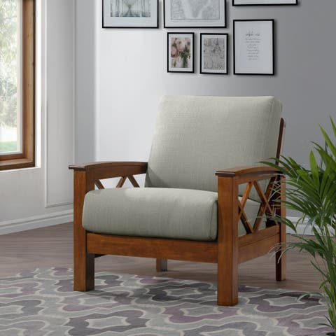Carson Carrington Klaipeda X-design Arm Chair