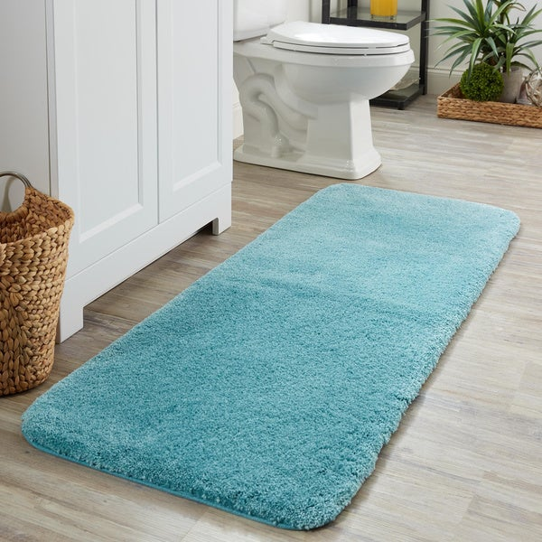 Shop Mohawk Home Spa Bath Rug In Paprika As Is Item