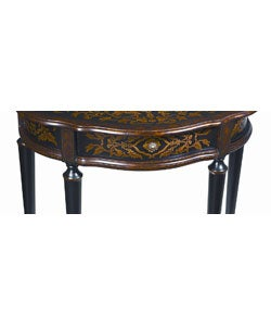 Hand-painted Accent Table - Thumbnail 1