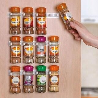 36-Pack Spice Racks Strips Gripper Organizer