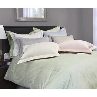 Royal Luxe Dot 330 Thread Count 3-piece Duvet Cover Set (2 options available)