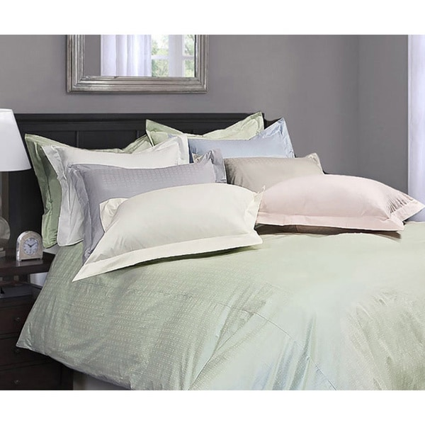Royal Luxe Dot 330 Thread Count 3-piece Duvet Cover Set