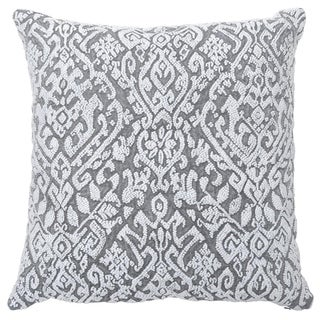 Kosas Home Whitney Embroidered 22-inch Throw Pillow