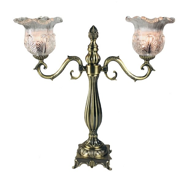 Jt Lighting Traditional Electric Candelabra Antique Gold Finish