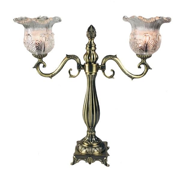 Shop JT Lighting Traditional Electric Candelabra Antique Gold Finish