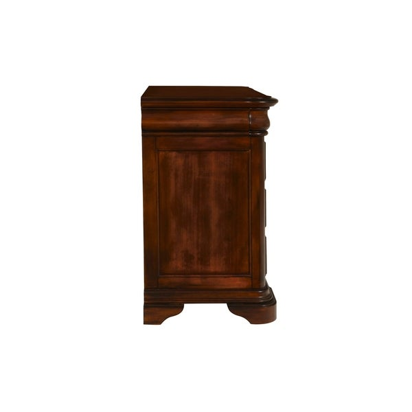 Whitley Court Tobacco 4-drawer Nightstand Tobacco 4-drawer