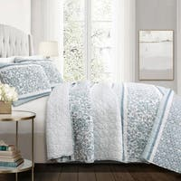 Lush Decor Nisha 3 Piece Quilt Set