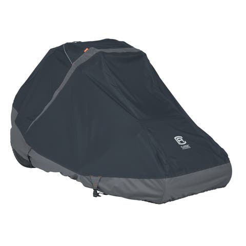 Classic Accessories StormPro RainProof Heavy-Duty Zero Turn Mower Cover, Large
