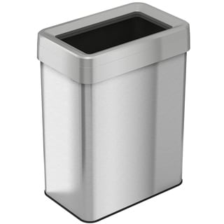 iTouchless 18 Gallon / 68 Liter Rectangular Open-Top Trash Can