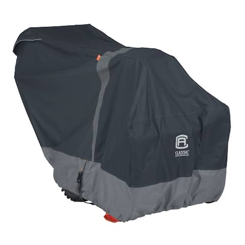 Classic Accessories StormPro RainProof Heavy-Duty Snow Thrower Cover - Fits most two-stage snow throwers